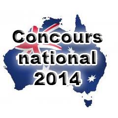 Australie Drapeau Concours2014